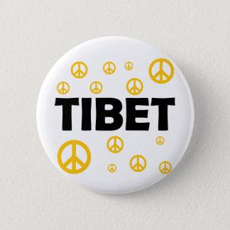 Bóton Redondo 5.08cm Todos ama Tibet
