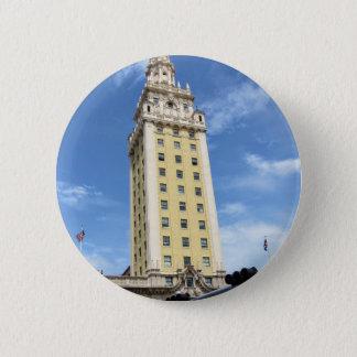 Bóton Redondo 5.08cm Torre cubana da liberdade em Miami 6