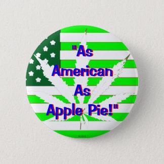 Bóton Redondo 5.08cm Torta de Apple 2 - botão