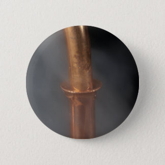 Bóton Redondo 5.08cm Tubulação de cobre com vapor