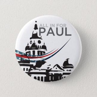 Bóton Redondo 5.08cm Tudo para Paul - botão do tribunal