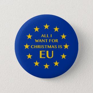 Bóton Redondo 5.08cm Tudo que eu quero para o Natal é UE