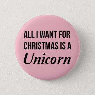 Bóton Redondo 5.08cm Tudo que eu quero para o Natal é um Pin do crachá