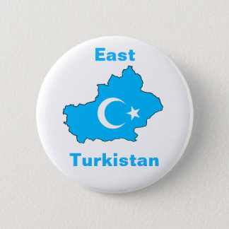 Bóton Redondo 5.08cm Turkistan do leste