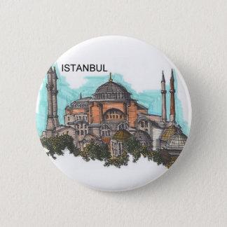 Bóton Redondo 5.08cm Turquia Istambul Hagia Sophia (por St.K)