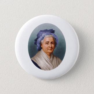 Bóton Redondo 5.08cm U.S. Primeira senhora Martha Dandridge Custis
