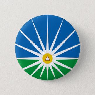 Bóton Redondo 5.08cm Uberlandia Minasgerais bandeira de Brasil, Brasil