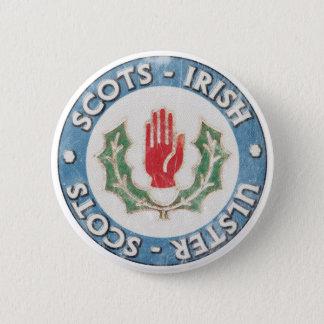 Bóton Redondo 5.08cm Ulster-Escocês/Irlandês