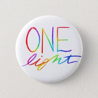 Bóton Redondo 5.08cm Um arco-íris inspirado claro exprime botões do Pin