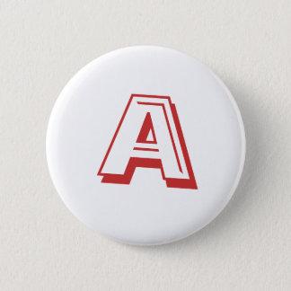 Bóton Redondo 5.08cm Um botão