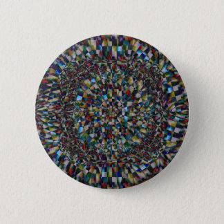 Bóton Redondo 5.08cm Um Fractal de uma possibilidade (botão)
