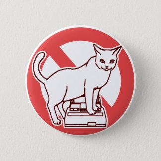 Bóton Redondo 5.08cm Um gato restaura um computador em Japão