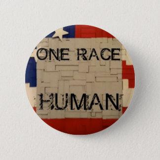 Bóton Redondo 5.08cm Um ser humano da raça