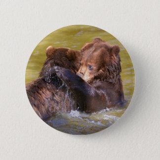 Bóton Redondo 5.08cm Ursos na água