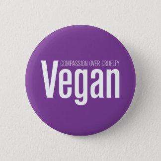 Bóton Redondo 5.08cm Vegan: Piedade sobre a crueldade