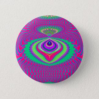 Bóton Redondo 5.08cm Verão do botão do amor