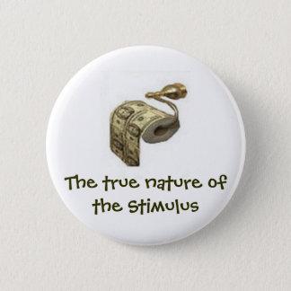 Bóton Redondo 5.08cm Verdadeira natureza do estímulo