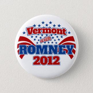 Bóton Redondo 5.08cm Vermont com Romney 2012