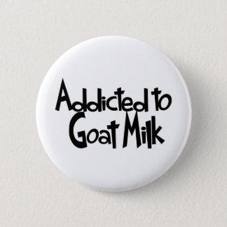 Bóton Redondo 5.08cm Viciado ao leite da cabra