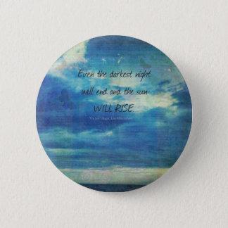 Bóton Redondo 5.08cm Victor Hugo, citações de Les Miserables inspiradas