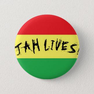 Bóton Redondo 5.08cm Vidas de Jah!