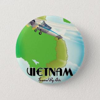 Bóton Redondo 5.08cm Vietnam pela cópia das férias do ar