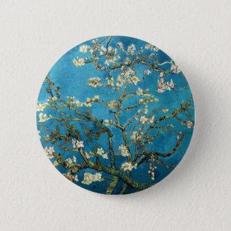 Bóton Redondo 5.08cm Vincent van Gogh, árvore de amêndoa de