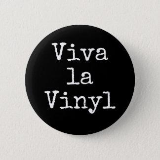 Bóton Redondo 5.08cm Vinil do La de Viva - crachá do Pin do botão do