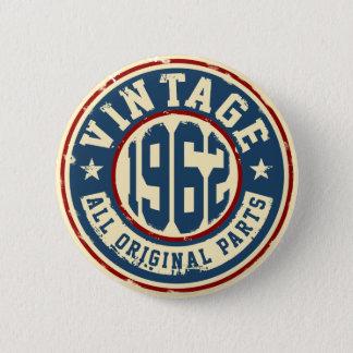 Bóton Redondo 5.08cm Vintage 1962 todas as peças do original