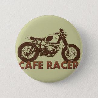 Bóton Redondo 5.08cm Vintage do piloto do café