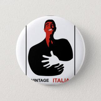 Bóton Redondo 5.08cm Vintage Italia