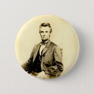 Bóton Redondo 5.08cm VINTAGE RARO do presidente Abraham Lincoln
