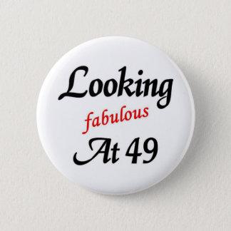 Bóton Redondo 5.08cm Vista fabuloso em 49