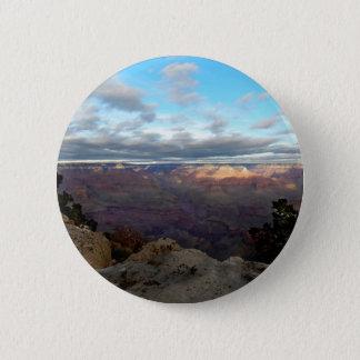 Bóton Redondo 5.08cm Vista panorâmica do Grand Canyon