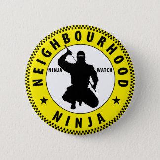 Bóton Redondo 5.08cm vizinhança Ninja