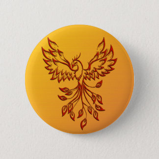 Bóton Redondo 5.08cm Vôo de um Phoenix
