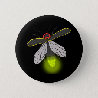 Bóton Redondo 5.08cm vôo do inseto de relâmpago iluminado