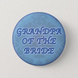 Bóton Redondo 5.08cm Vovô do botão da noiva