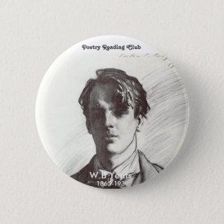 Bóton Redondo 5.08cm W.B. Yeats