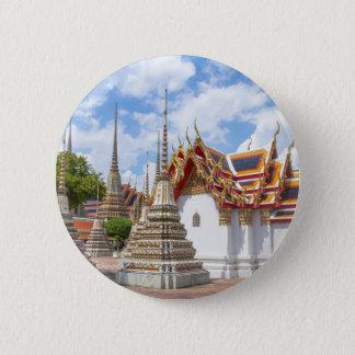 Bóton Redondo 5.08cm Wat Pho, Banguecoque