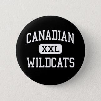 Bóton Redondo 5.08cm - Wildcats - segundo grau canadense - canadense