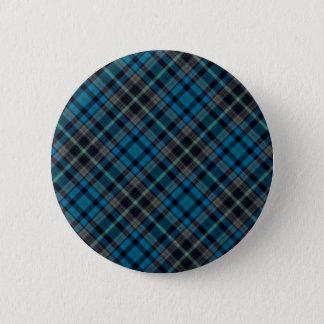 Bóton Redondo 5.08cm Xadrez azul escuro