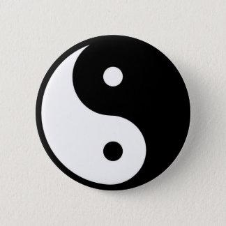Bóton Redondo 5.08cm Yin Yang
