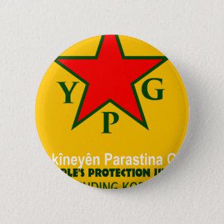 Bóton Redondo 5.08cm ypg-ypj - kobani do apoio