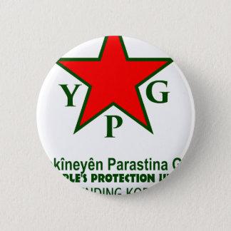 Bóton Redondo 5.08cm ypg-ypj - kobani do apoio - claro