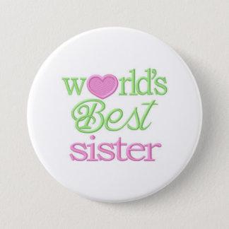 """Bóton Redondo 7.62cm 3"""" enorme Pin enorme da melhor irmã dos mundos da"""