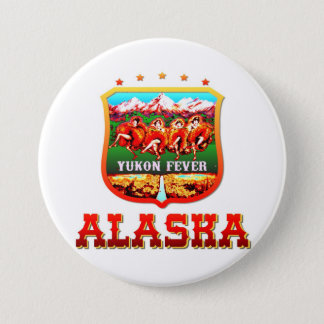 Bóton Redondo 7.62cm Alaska EUA