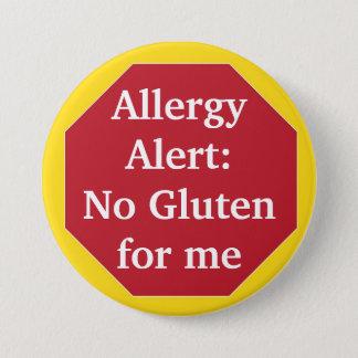 Bóton Redondo 7.62cm Alerta da alergia:  Nenhum glúten