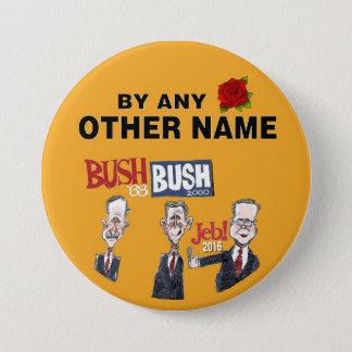 Bóton Redondo 7.62cm Anti-Jeb Bush 2016