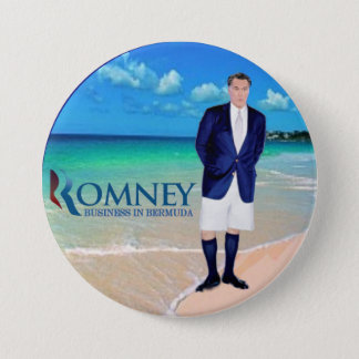 Bóton Redondo 7.62cm Anti-Romney: Negócio em Bermuda